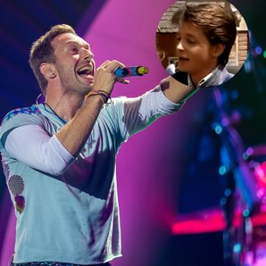 Coldplay and Michael J Fox