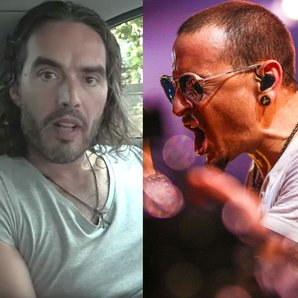 Russell Brand and Linkin Park's Chester Bennington