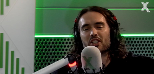 Russell Brand talks farting in front of builders