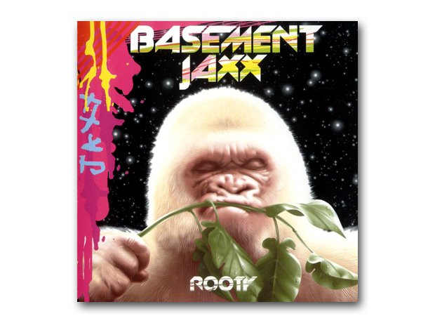 Basement Jaxx - Rooty album cover