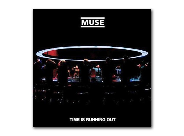 Muse - Time Is Running Out album cover